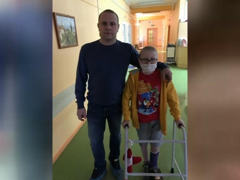 Девятилетний лидчанин Артем Шульвинский нуждается в срочной помощи: у мальчика онкология.