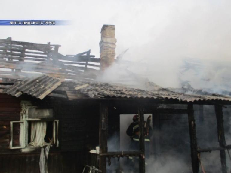 На чужих ошибках не учатся. Сегодня в Лидском районе снова на пожаре погиб человек.