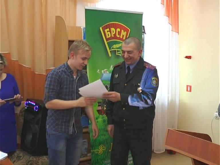 14 лет на охране спокойствия граждан. Бойцы молодёжных отрядов охраны правопорядка отмечают день рождения организации.
