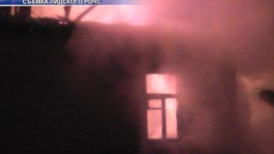 Photo of В субботу вечером в агрогородке Белица на пожаре погибла 74-летняя женщина