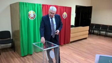 Photo of Свой выбор сделал и глава района Михаил Карпович
