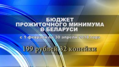 Photo of С 1-го февраля по 30-е апреля 2018 года бюджет прожиточного минимума в среднем на душу населения в расчете на месяц установлен в размере 199 рублей 32 копеек.