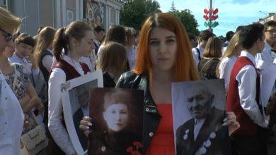 Photo of Жители Лидчины сегодня поддержали областную патриотическую акцию «И в памяти навеки имена…»