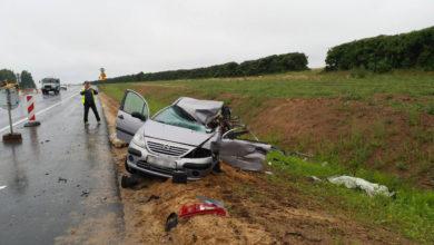 Photo of 18+. Сегодня утром в Лидском районе произошло ДТП, в котором погиб водитель легкового автомобиля. (ОБНОВЛЕНО)