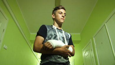Photo of Лидский подросток сломал руку играя в футбол за «Российскую сборную»