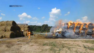 Photo of 2 августа в Берестовицком районе Гродненской области было уничтожено 37 тонн соломы
