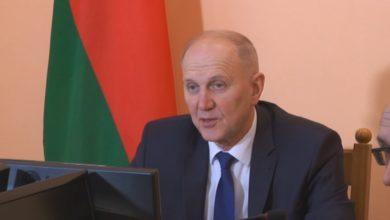 Photo of Председатель Гродненского облисполкома Владимир Кравцов на пресс-конференций подвел итоги социально-экономического развития региона