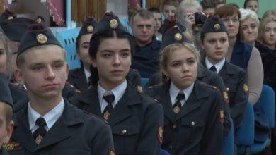 Photo of В 13-й раз в десятой лидской школе звучала «Присяга кадета»