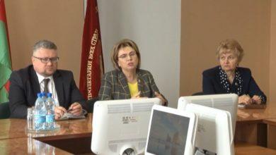 Photo of Заместитель председателя Совета Республики Национального собрания Беларуси Марианна Щеткина встретилась коллективом стеклозавода «Неман»