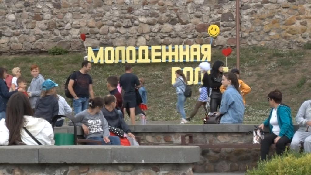 Фестиваль молодежных субкультур состоялся у стен Лидского замка.