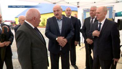 Photo of Президент Беларуси посетил Гродненскую область