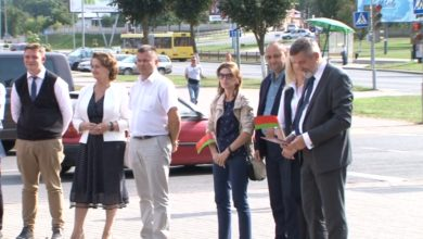 Photo of В Лиде торжественно открыли инклюзивный веломаршрут
