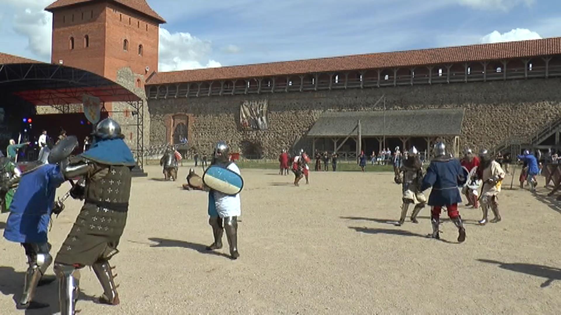 Рыцарский турнир «Меч Лидского замка» состоится в следующую субботу, 1 августа, в нашем городе.