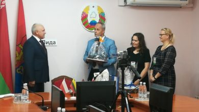 Photo of Председатель Лидского райисполкома Михаил Карпович встретился с делегациями городов-побратимов. ФОТО