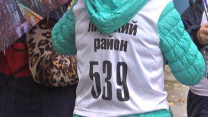 В Лиде прошли городские соревнования по скандинавской ходьбе среди людей пожилого возраста