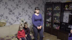 В Лидском районе принимали поздравления и многодетные мамы из сельской местности