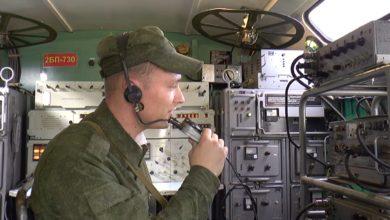 Батальон связи лидской авиабазы отметил столетий юбилей войск связи технически обновленным