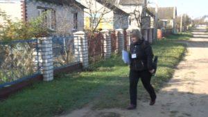 Переписчики посещают дома респондентов и в Лидском районе