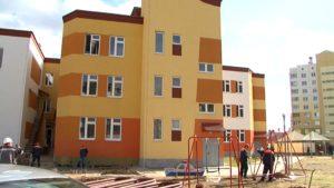 Новый детский сад в микрорайоне Индустриальный готовится к приему детей