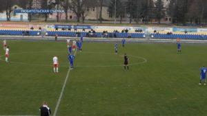 Вничью 0:0 завершили игру футбольные клубы «Лида» и «Гранит»