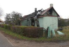 На пожаре в Лиде погиб человек