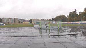 В Лиде появилась площадка «Урбанбол»