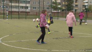 Юные лидские футболистки завоевали победу на областном молодежном первенстве по футболу