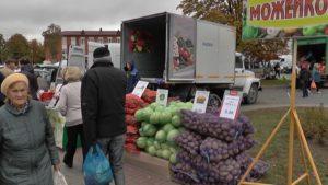 В Лиде продолжаются сельскохозяйственные ярмарки