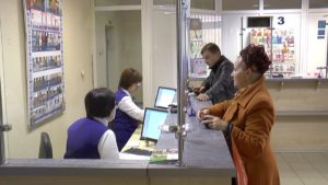 Работники почтового отделения № 12 в Лиде ежедневно обслуживают порядка 400 человек