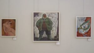 В Лидском историко-художественном музее работает выставка «Невидимое… видимое»