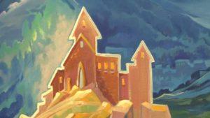 В Лидском замке выставил свои работы московский художник Дмитрий Остапчук