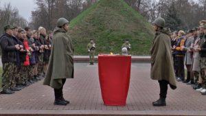 В Лидском районе капсула с землей с мест захоронений времен Великой Отечественной войны передана на хранение в Свято-Михайловский кафедральный собор