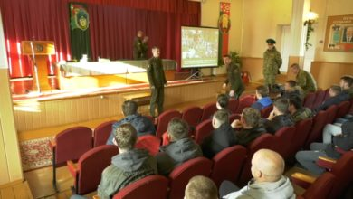 В Лидском пограничном отряде прошел День призывника