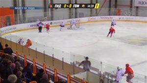 Хоккейный клуб «Лида» потерпел разгромное поражение на домашнем льду от хоккеистов «Гомеля»