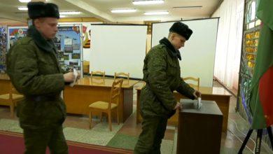 Досрочному голосованию Отдали предпочтение и солдаты срочной службы штурмовой авиационной базы