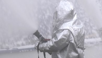 Спасатели ликвидировали пожар на «Лакокраске»