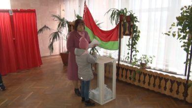 С восьми часов утра участки для голосования работали и на селе