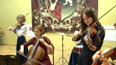 Камерный оркестр Лидского музыкального колледжа празднует победу