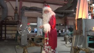 Дед Мороз и Снегурочка как безвизовые туристы посетили Берёзовку!