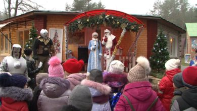 Photo of В Лидском районе открылась резиденция Деда Мороза
