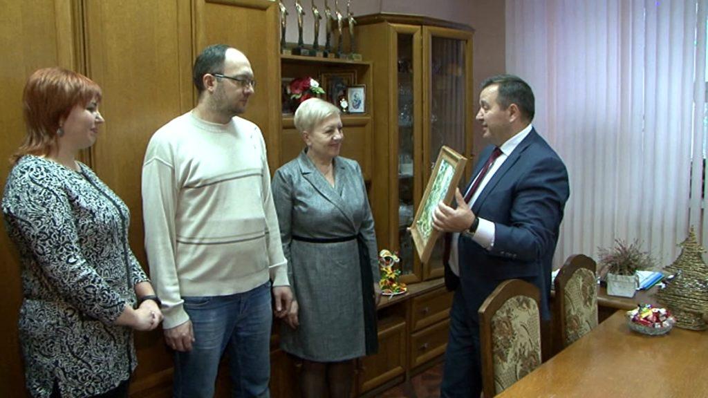 В Лиде побывал министр природных ресурсов и охраны окружающей среды Беларуси Андрей Худык