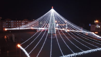 Photo of Лидская новогодняя ёлка признана самой красивой в области!