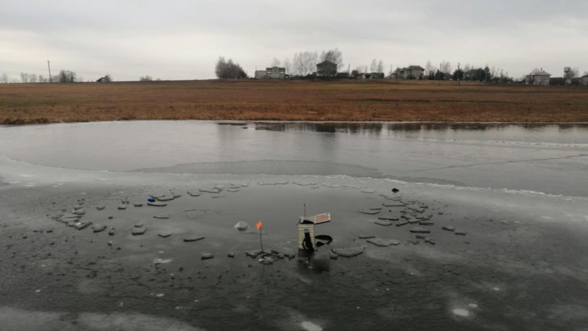 В Лидском районе утонул рыбак