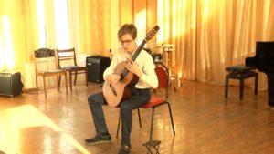 В Лиде прошел Первый открытый региональный конкурс исполнителей на классической гитаре «Гитарный Олимп-2020»