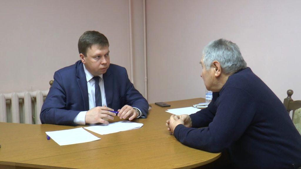 Председатель Лидского райисполкома Сергей Ложечник провел прием граждан по личным вопросам
