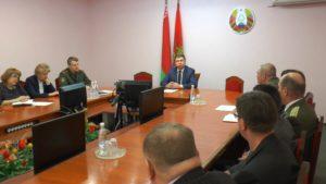 Сергей Ложечник встретился с членами районной организации Белорусского союза ветеранов войны в Афганистане