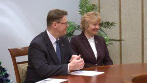 Между Лидой и латышским городом Ливаны подписан договор о сотрудничестве в различных сферах