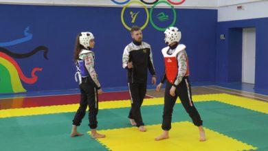 Каролина Киеня и Сабрина Гасанова завоевали вторые места на чемпионате Беларуси по таэквондо