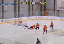 Последнюю домашнюю игру в этом сезоне провел хоккейный клуб «Лида»