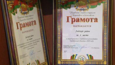 Лидский район занял первое место за вклад региона в спортивные достижения